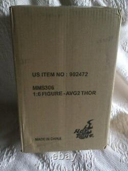 Hot Toys-Avengers 2 Age of Ultron-Thor-MMS306-1/6 Figure-New in mailer
