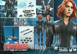 Hot Toys Avengers Age Of Ultron Black Widow 1/6 Scale Figure Mms-288 Marvel