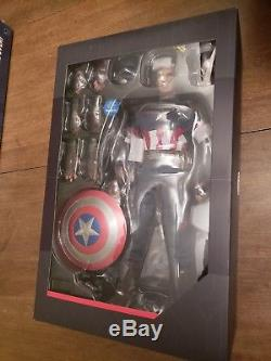Hot Toys Avengers Age Of Ultron Captain America MMS281