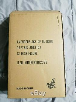 Hot Toys Avengers Age Of Ultron Captain America MMS 281 1/6 Action Figure