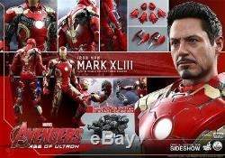 Hot Toys Avengers Age Of Ultron Exclusive Iron Man Mark Xliii 1/4 Scale BrandNew