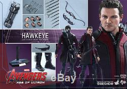 Hot Toys Avengers Age Of Ultron Hawkeye 16 Scale Figure Mms289 New In Shipper