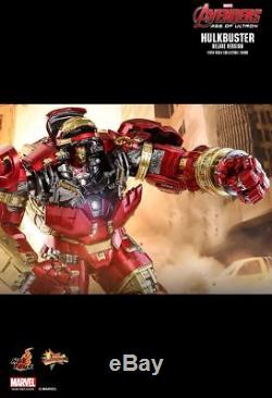 Hot Toys Avengers Age Of Ultron Ironman Hulkbuster Deluxe Mms510 Jackhammer Pod