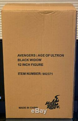 Hot Toys Avengers Age of Ultron Black Widow 1/6th scale MMS288 with Shipper