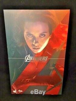 Hot Toys Avengers Age of Ultron Black Widow MMS288 1/6th scale Figure Excellent