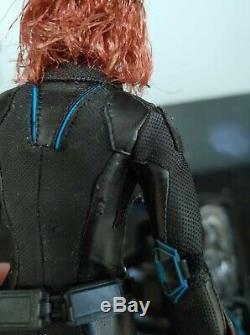 Hot Toys Avengers Age of Ultron Black Widow MMS288 1/6th scale Figure (READ)