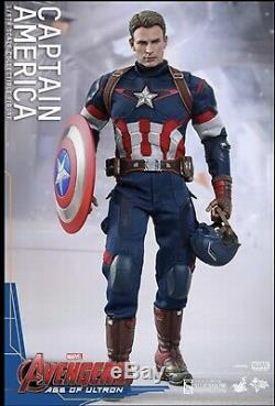 Hot Toys Avengers Age of Ultron- Captain America Action Figure Never Opened