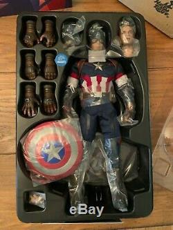 Hot Toys Avengers Age of Ultron Captain America MMS281 USA