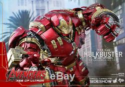 Hot Toys Avengers Age of Ultron HULKBUSTER Deluxe Version Figure NEW