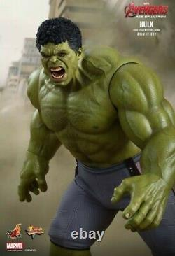 Hot Toys Avengers Age of Ultron HULK Deluxe MMS287 1/6 Scale Figure MIB SEALED