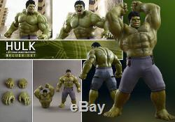 Hot Toys Avengers Age of Ultron Hulk Deluxe 16 Scale Figure (MMS 287) 1A