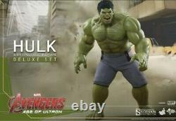 Hot Toys Avengers Age of Ultron Hulk Deluxe MMS287 1/6 Scale Ultra Rare