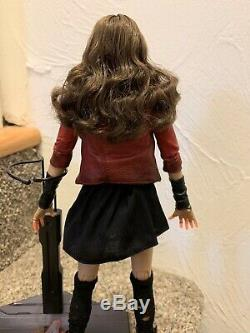 Hot Toys Avengers Age of Ultron Scarlet Witch Wanda Maximoff Sideshow MMS301
