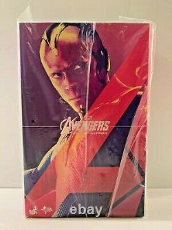 Hot Toys Avengers Age of Ultron Vision 1/6 Scale Figure New MMS296