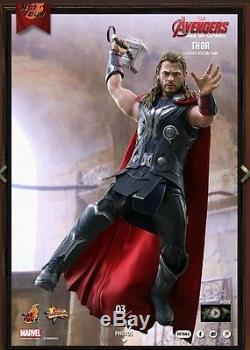 Hot Toys Avengers Thor Age Of Ultron 1/6 Figure Brand New With Augmented Reality