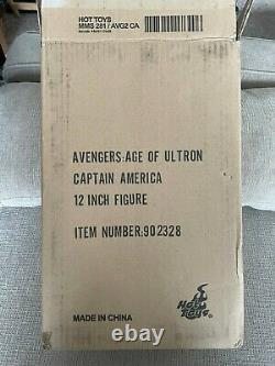 Hot Toys Captain America 1/6 Scale (Age of Ultron) MMS281 Excellent Condition