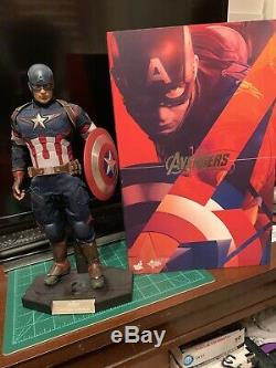 Hot Toys Captain America Age Of Ultron 1/6 Scale Figure MMS281 Avengers