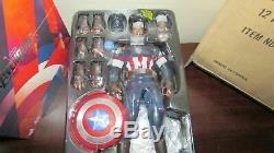 Hot Toys Captain America Avengers Age of Ultron 1/6 Scale Figure MMS281