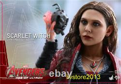 Hot Toys HT 16 MMS302 Scarlet Witch AvengersAge of Ultron Action Figure Dolls