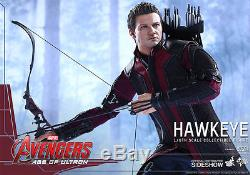 Hot Toys Hawkeye Avengers 2 Age of Ultron 12 Inch Action Figure MMS289 Renner