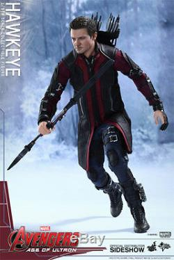 Hot Toys Hawkeye Avengers Age Of Ultron 1/6 Scale Figure Jeremy Renner Sideshow