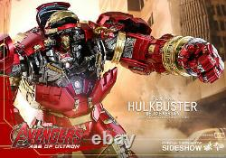 Hot Toys Hulkbuster Deluxe 1/6 Scale Figure Avengers Age Of Ultron Sideshow New
