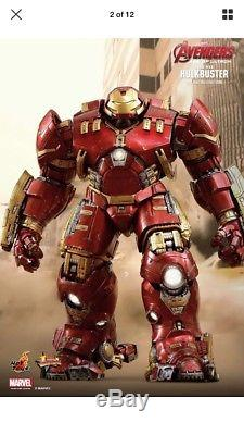 Hot Toys Hulkbuster MMS285 Six Scale Figure 16 Avengers 2 Age Of Ultron