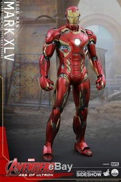 Hot Toys IRON MAN MARK 45 1/4 SCALE ACTION FIGURE Age of Ultron QS006
