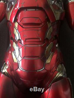 Hot Toys IRON MAN MARK 45 1/4 SCALE ACTION FIGURE Age of Ultron QS006 New