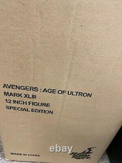 Hot Toys Iron Man MK43 MMS278 AVENGERS Age of Ultron Special Edition DIECAST