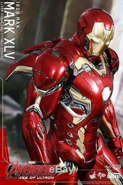 Hot Toys Iron Man Mark XLV MK 45 Avengers Age of Ultron Die Cast NewithMint Sealed