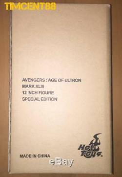 Hot Toys MMS278D09 Avengers Age of Ultron Iron Man Mark 43 XLIII Diecast Special