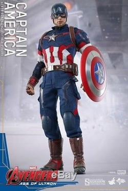 Hot Toys MMS281 1/6 Avengers 2 Age of Ultron Captain America MIB New US