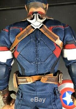 Hot Toys MMS281 Age Of Ultron Captain America Marvel Avengers Please Read