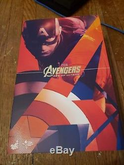 Hot Toys MMS281 Captain America Avengers Age of Ultron 1/6 scale figure NEW
