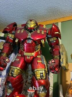 Hot Toys MMS285 1/6 Scale 21in Avengers Age of Ultron Iron Man Hulkbuster Acti