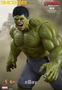 Hot Toys MMS287 Avengers Age of Ultron AOU 1/6 Hulk 2 Body Deluxe set