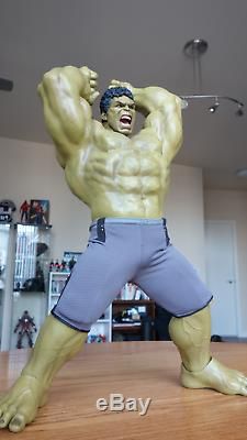 Hot Toys MMS287 Marvel Avengers Age of Ultron AOU 1/6 Hulk 2 Body Deluxe set