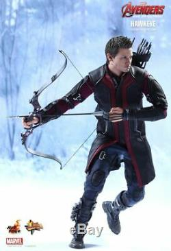 Hot Toys MMS289 Hawkeye Marvel The Avengers Age of Ultron 1/6 Scale Figure MIB