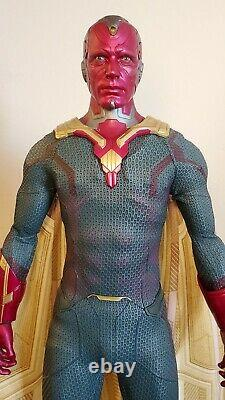 Hot Toys MMS296 Avengers Age Of Ultron 1/6 Scale Vision Action Figure NO SHIPPER
