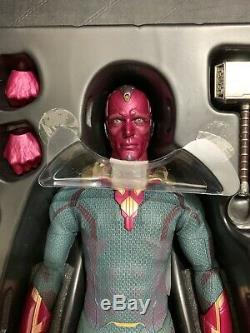 Hot Toys MMS296 Avengers Age of Ultron AOU Vision 12 1/6 Marvel Action Figure