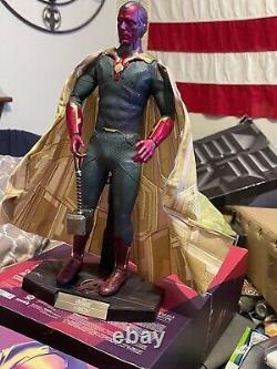 Hot Toys MMS296 VISION Avengers Age Of Ultron 1/6 Scale Vision Action Figure