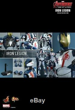 Hot Toys MMS299 Iron Man Iron Legion Avengers Age of Ultron 1/6 SEALED in USA