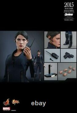 Hot Toys MMS305 Avengers 2 Age of Ultron AOU 1/6 Maria Hill Toy Fair Exclusive