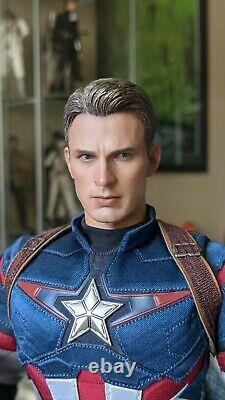 Hot Toys MMS 281 Avengers Age of Ultron Captain America Action Figure