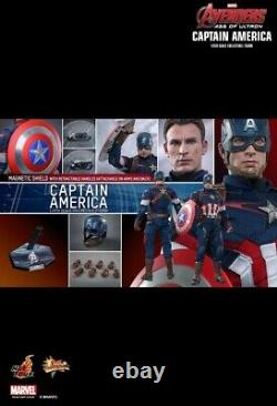 Hot Toys MMS 281 Captain America Avengers Age of Ultron Action Figure 1/6 marvel