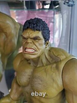 Hot Toys MMS 287 Avengers Age of Ultron Hulk Deluxe Collectible Set 1/6 special