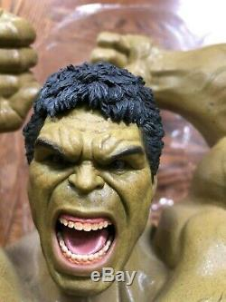 Hot Toys MMS 287 The Avengers Age of Ultron Hulk Upper Body (Hulk Smash) Only