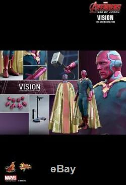 Hot Toys MMS 296 Avengers Age of Ultron AOU Vision Figure NEW (Imperfect Box)