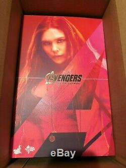 Hot Toys MMS 301 Avengers Age of Ultron AOU Scarlet Witch Elizabeth Olsen
